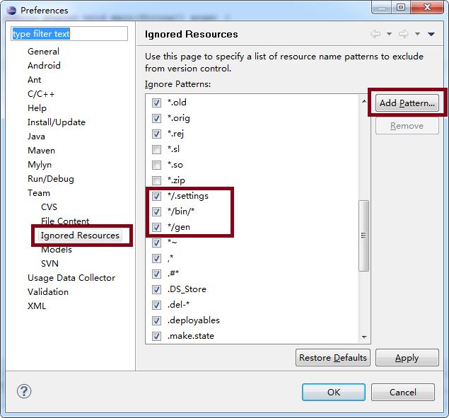 Eclipse中SVN过滤指定文件夹或文件下内容 - 朱强 - JAVA菜地