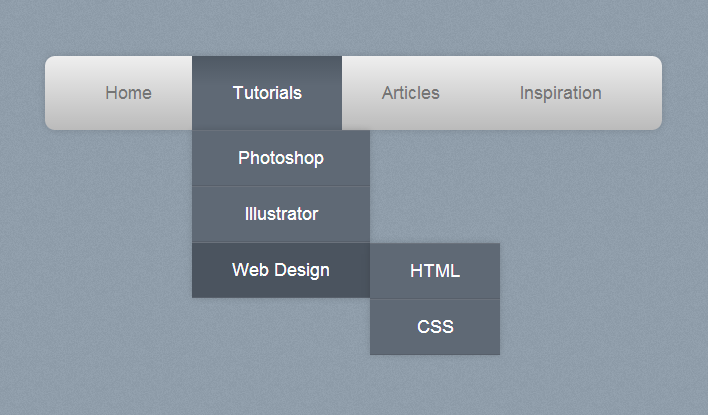 创建一个纯CSS下拉菜单316